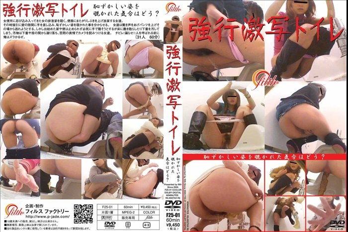 強行激写トイレ Defecation in the Toilet With a Hidden Camera - F25-01 (SD 720x480)