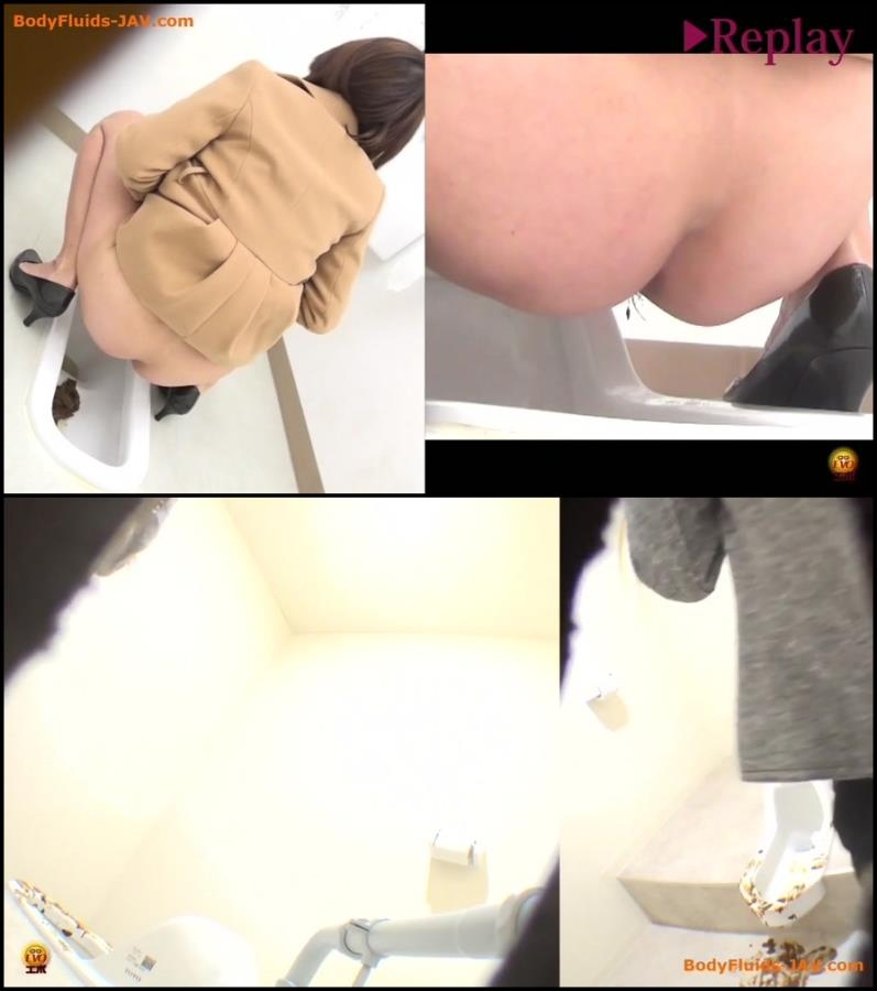 Spy camera in public toilet filming poop japanese women - BFEE-41 (FullHD 1920x1080)