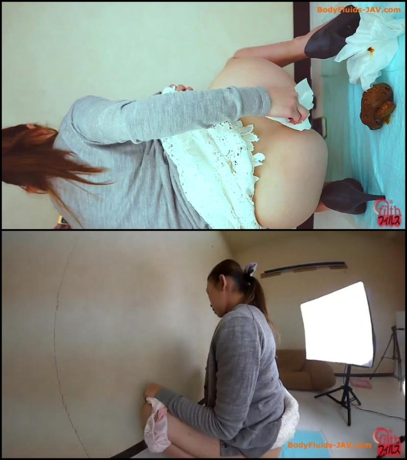 Woman defecates thick turd 3 angle viewing - BFFF-108 (FullHD 1920x1080)