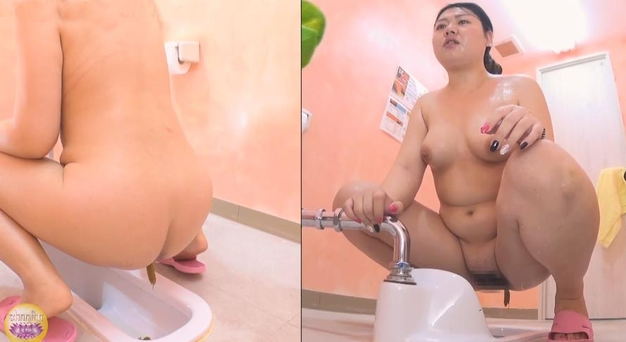 Hot and Naked Female Body Toilet scat ホットと裸の女性の身体トイレスキャット - BFSL-130 (FullHD 1920x1080)