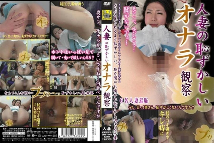 Married Observation Embarrassing Fart 結婚観測恥ずかしいおなら - LHBY-063 (SD 640x480)