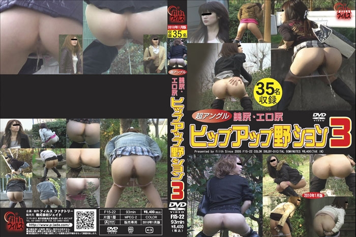 Super Angle Beauty Outdoor Peeing 極度の角度の美の屋外の小便 - F15-22 (SD 640x480)
