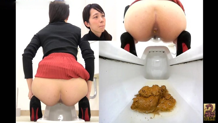 臭いおなら&うんちによって5角度 Stinky Farting & Pooping by 5 Angles - BFSR-403 (FullHD 1920x1080)