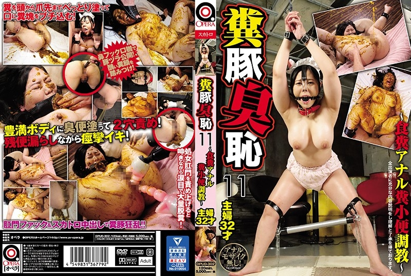Pig Smell Shame ~ Anal Feces, Piss Excavation 豚臭羞恥~アナル糞、小便発掘調査~ - OPUD-302 (SD 720x404)