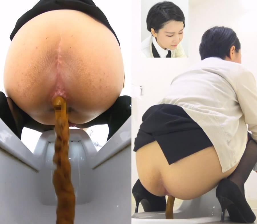 Hot Office Lady 温泉オフィスレディ Defecation - BFSR-496 (FullHD 1920x1080)