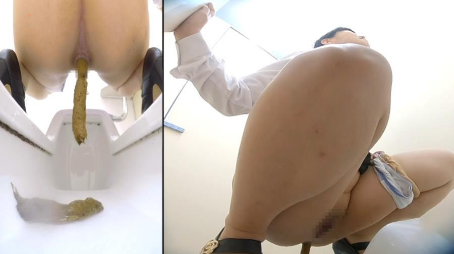 Office lady Anus Enlargement and Powerful Stool - BFSL-264 (FullHD 1920x1080)